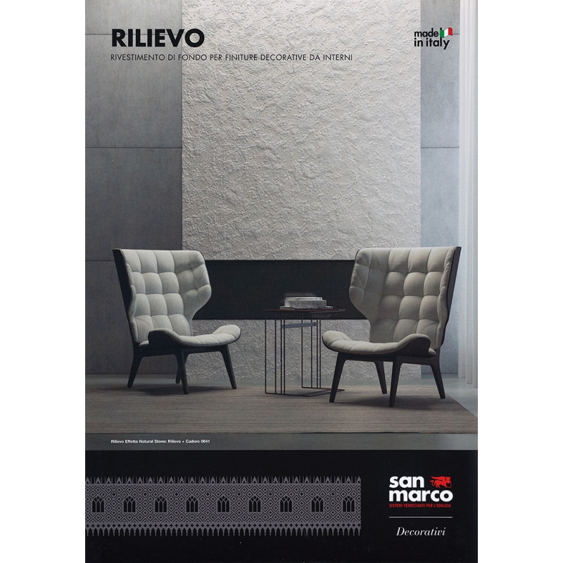 Rilievo farvekort cover